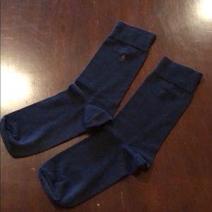 Black men's polo socks
